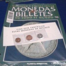 Lotes de Billetes: FASCICULO Nº 98 ( PAPUA NUEVA GUINEA ) MONEDAS Y BILLETES DE TODO EL MUNDO PLANETA DE AGOSTINI. Lote 184883238