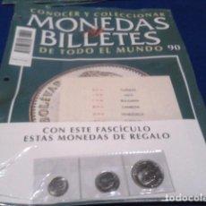 Lotti di Banconote: FASCICULO Nº 90 ( VENEZUELA) MONEDAS Y BILLETES DE TODO EL MUNDO PLANETA DE AGOSTINI . Lote 184885552