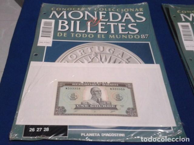 FASCICULO Nº 87 ( HAITI - 1 GOURDE ) MONEDAS Y BILLETES DE TODO EL MUNDO PLANETA DE AGOSTINI (Numismática - Notafilia - Series y Lotes)