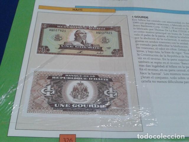 Lotes de Billetes: FASCICULO Nº 87 ( HAITI - 1 GOURDE ) MONEDAS Y BILLETES DE TODO EL MUNDO PLANETA DE AGOSTINI - Foto 3 - 185702906