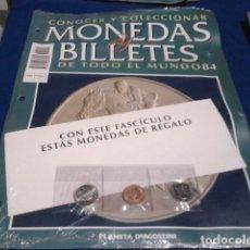 Lotes de Billetes: FASCICULO Nº 84 ( JAMAICA - CENTS, DOLAR ) MONEDAS Y BILLETES DE TODO EL MUNDO PLANETA DE AGOSTINI. Lote 185703263
