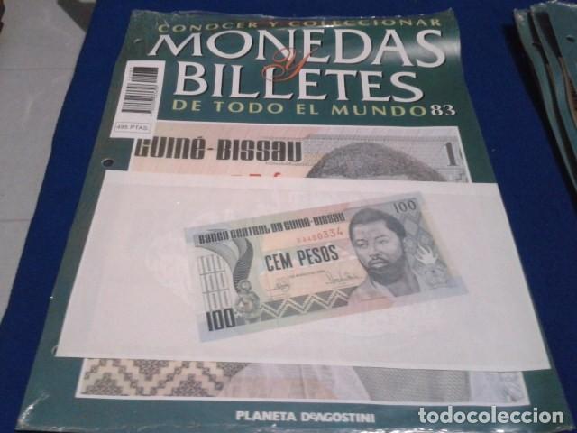 FASCICULO Nº 83 ( GUINEA - BISSAU 100 PESOS) MONEDAS Y BILLETES DE TODO EL MUNDO PLANETA DE AGOSTINI (Numismática - Notafilia - Series y Lotes)
