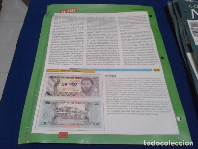 Lotes de Billetes: FASCICULO Nº 83 ( GUINEA - BISSAU 100 PESOS) MONEDAS Y BILLETES DE TODO EL MUNDO PLANETA DE AGOSTINI - Foto 3 - 185744361