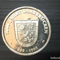 Lotes de Billetes: MEDALLA CONMEMORATIVA DE LOS 1000 AÑOS DE SARREBRUCK. Lote 194308857