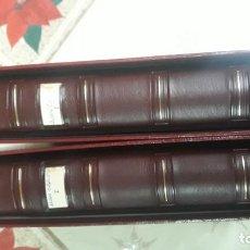 Lotes de Billetes: 2 ALBUNES PARDO CON TODAS LAS HOJAS 1975 -2001 Y 120 MONEDAS . Lote 194996221