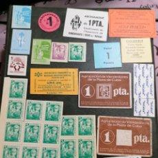 Lotes de Billetes: LOTE BILLETES BANCOS ASOCIACIONES AÑOS 70. Lote 195136538