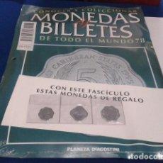 Lotes de Billetes: FASCICULO Nº78(ESTADOS DEL CARIBE ORIENTAL)MONEDAS Y BILLETES DE TODO EL MUNDO PLANETA DE AGOSTINI. Lote 199107922