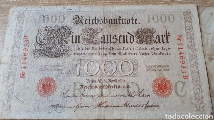 Lotes de Billetes: BILLETES ALEMANES USADOS ALGUNO 1908 Y 1910 - Foto 2 - 199818730