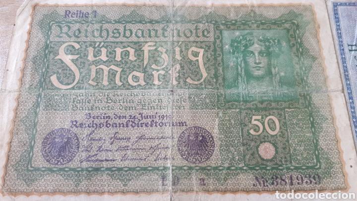 Lotes de Billetes: BILLETES ALEMANES USADOS ALGUNO 1908 Y 1910 - Foto 3 - 199818730
