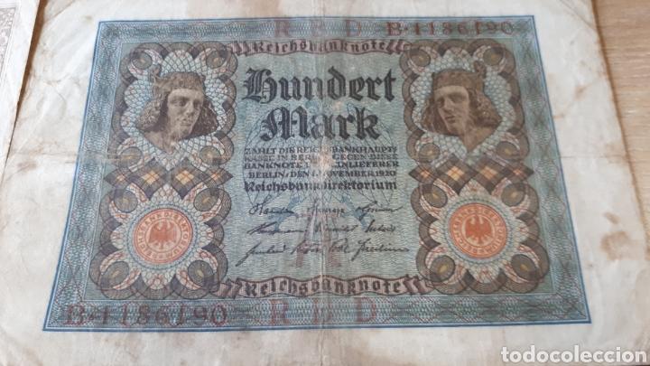 Lotes de Billetes: BILLETES ALEMANES USADOS ALGUNO 1908 Y 1910 - Foto 4 - 199818730
