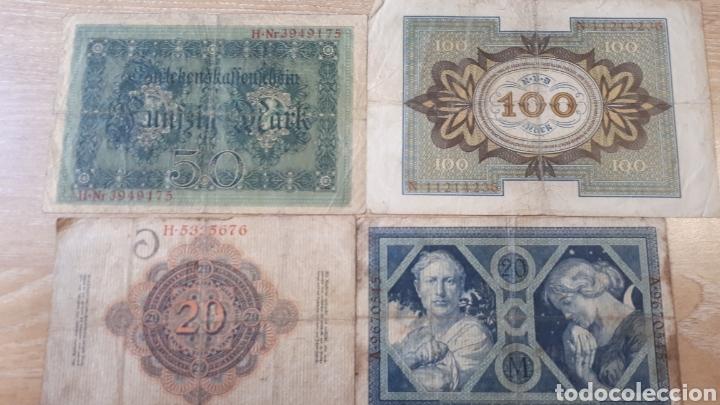 Lotes de Billetes: 4 BILLETES ALEMANIA ENTRE 1910 Y 1920 USADOS VER ESTADO EN FOTOGRAFIAS - Foto 6 - 199819282