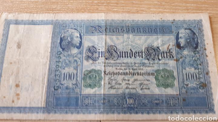 Lotes de Billetes: 3 BILLETES DE ALEMANIA USADOS ENTRE 1910 Y 1917 VER ESTADO EN FOTOGRAFIAS - Foto 2 - 199819781