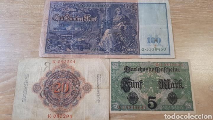 Lotes de Billetes: 3 BILLETES DE ALEMANIA USADOS ENTRE 1910 Y 1917 VER ESTADO EN FOTOGRAFIAS - Foto 5 - 199819781