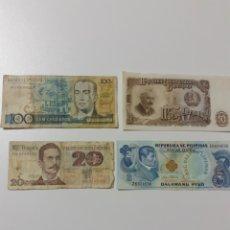 Lotes de Billetes: LOTE DE 4 BILLETES DE VARIOS PAÍSES. Lote 199884318