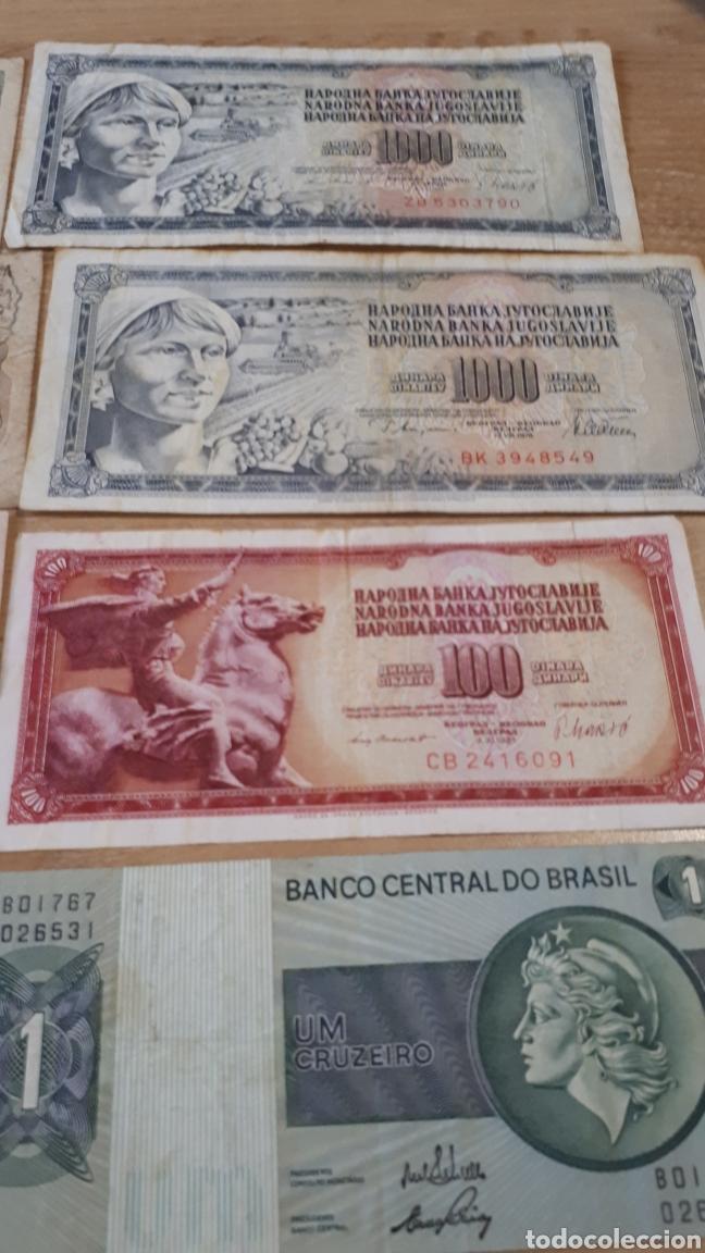 Lotes de Billetes: 12 BILLETES MUY USADOS DE BRASIL YOGOSLAVIA Y ARGENTINA H02 - Foto 4 - 200192983