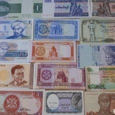 Lotes de Billetes: 15 BILLETES EN PLANCHA VARIADOS H01. Lote 200194490