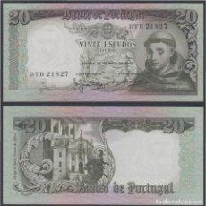 Lotes de Notas: PORTUGAL 20 ESCUDOS 1964 BILLETE BANKNOTE SIN CIRCULAR. Lote 204051745