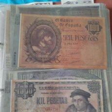 Lotes de Billetes: MUY COMPLETA COLECCIÓN DE FACSÍMILES ESPAÑA 110 UNIDADES. Lote 204192165