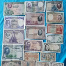 Lotes de Billetes: 21 BILLETES ESPAÑOLES DE 1906 A 1954. Lote 204313665