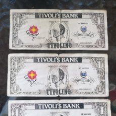 Lotes de Billetes: BILLETES TIVOLI WORLD. Lote 204822260