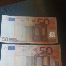 Lotes de Billetes: LOTE BILLETES 50 EUROS. Lote 205594785