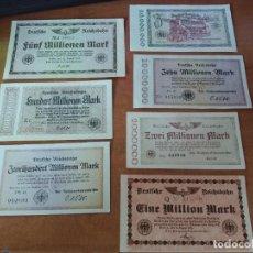 Lotes de Billetes: ALEMANIA. LOTE 7 BILLETES REICHSBAHN. BUEN ESTADO. Lote 205732205