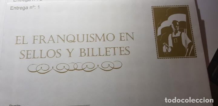 EL FRANQUISMO EN SELLOS Y BILLETES. LOTE DEL Nº 1 AL Nº 26 Y EL Nº 78 (26 SOBRES SIN ABRIR) (Numismática - Notafilia - Series y Lotes)