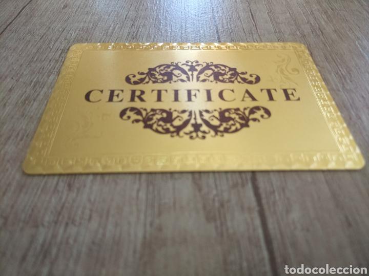 Lotes de Billetes: Lote Colección DÓLARES en ORO puro 99,9% 24. con Certificado de Autenticidad - Foto 12 - 207195960