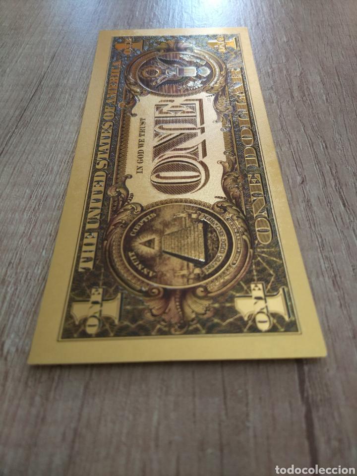 Lotes de Billetes: Lote Colección DÓLARES en ORO puro 99,9% 24. con Certificado de Autenticidad - Foto 14 - 207195960