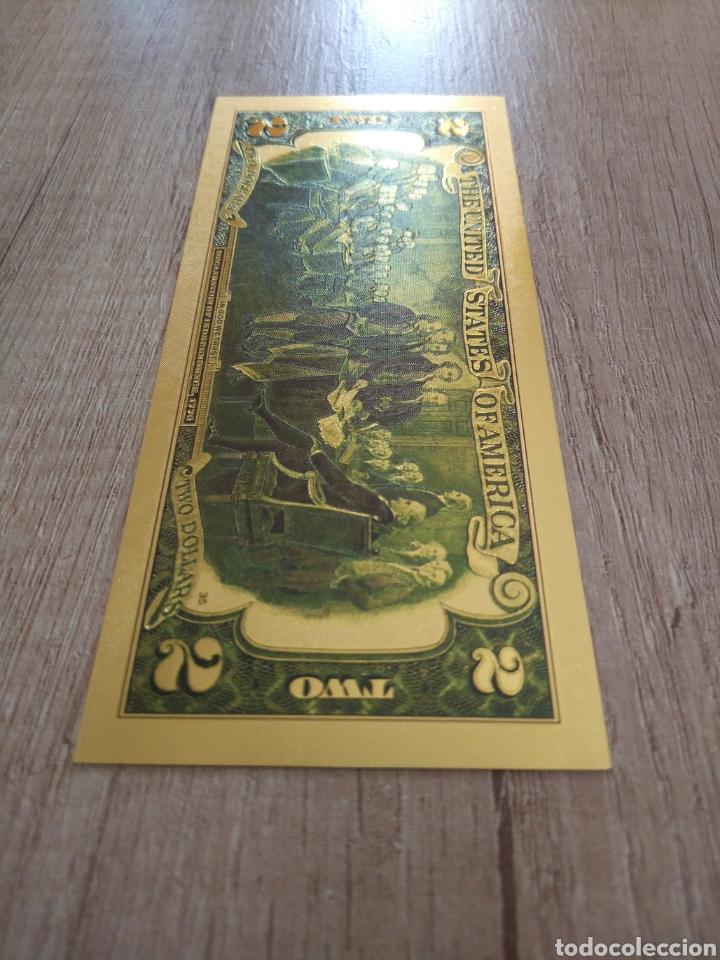 Lotes de Billetes: Lote Colección DÓLARES en ORO puro 99,9% 24. con Certificado de Autenticidad - Foto 17 - 207195960