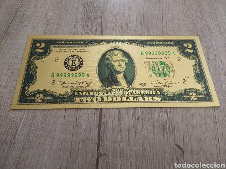 Lotes de Billetes: Lote Colección DÓLARES en ORO puro 99,9% 24. con Certificado de Autenticidad - Foto 20 - 207195960