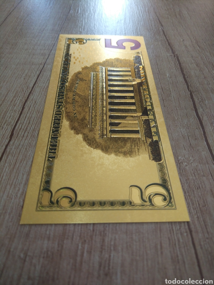 Lotes de Billetes: Lote Colección DÓLARES en ORO puro 99,9% 24. con Certificado de Autenticidad - Foto 21 - 207195960