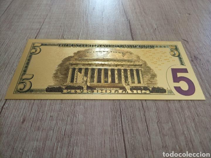 Lotes de Billetes: Lote Colección DÓLARES en ORO puro 99,9% 24. con Certificado de Autenticidad - Foto 22 - 207195960