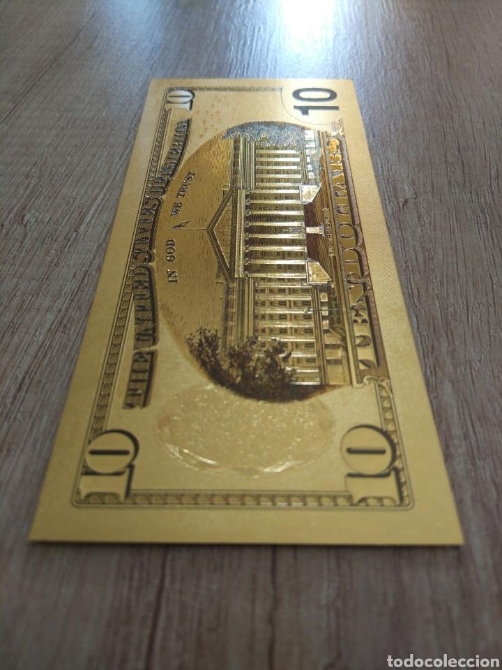 Lotes de Billetes: Lote Colección DÓLARES en ORO puro 99,9% 24. con Certificado de Autenticidad - Foto 25 - 207195960