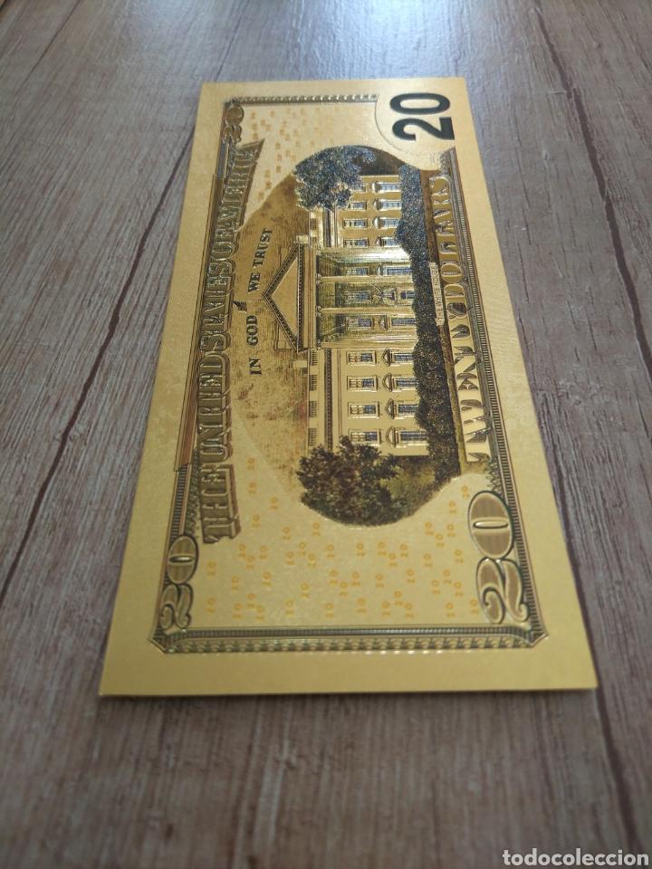 Lotes de Billetes: Lote Colección DÓLARES en ORO puro 99,9% 24. con Certificado de Autenticidad - Foto 29 - 207195960