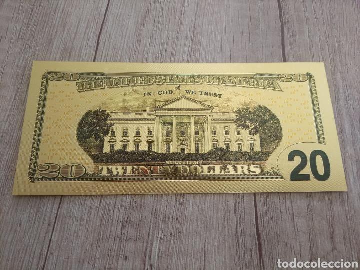 Lotes de Billetes: Lote Colección DÓLARES en ORO puro 99,9% 24. con Certificado de Autenticidad - Foto 30 - 207195960