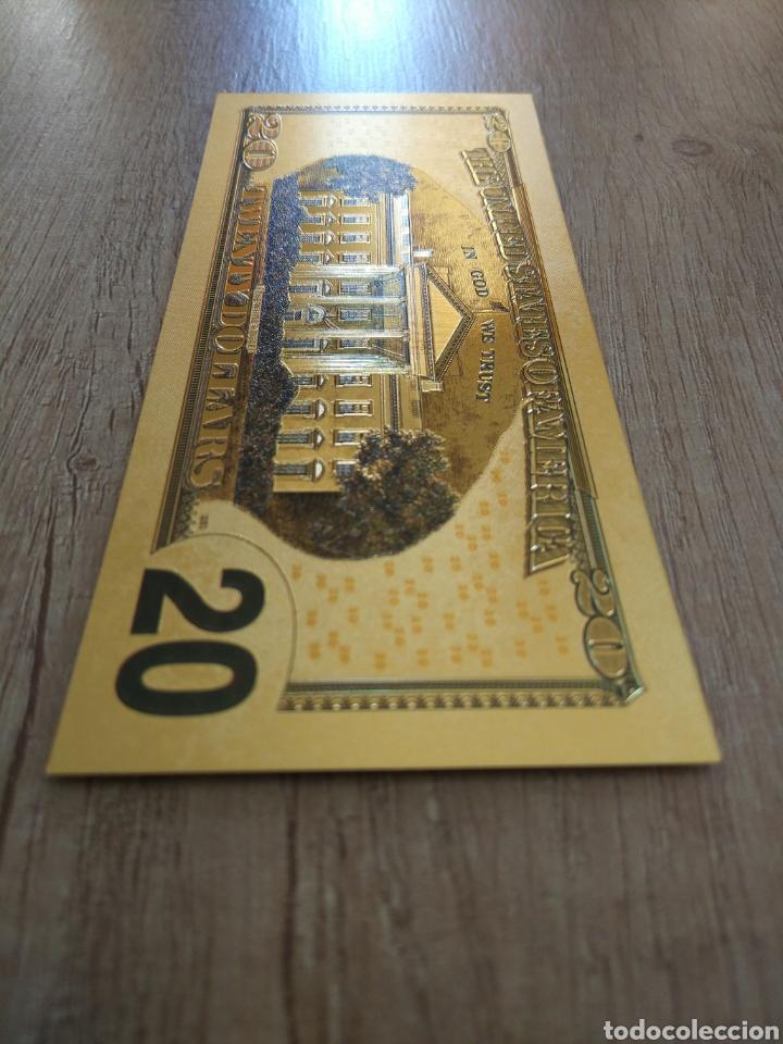 Lotes de Billetes: Lote Colección DÓLARES en ORO puro 99,9% 24. con Certificado de Autenticidad - Foto 33 - 207195960