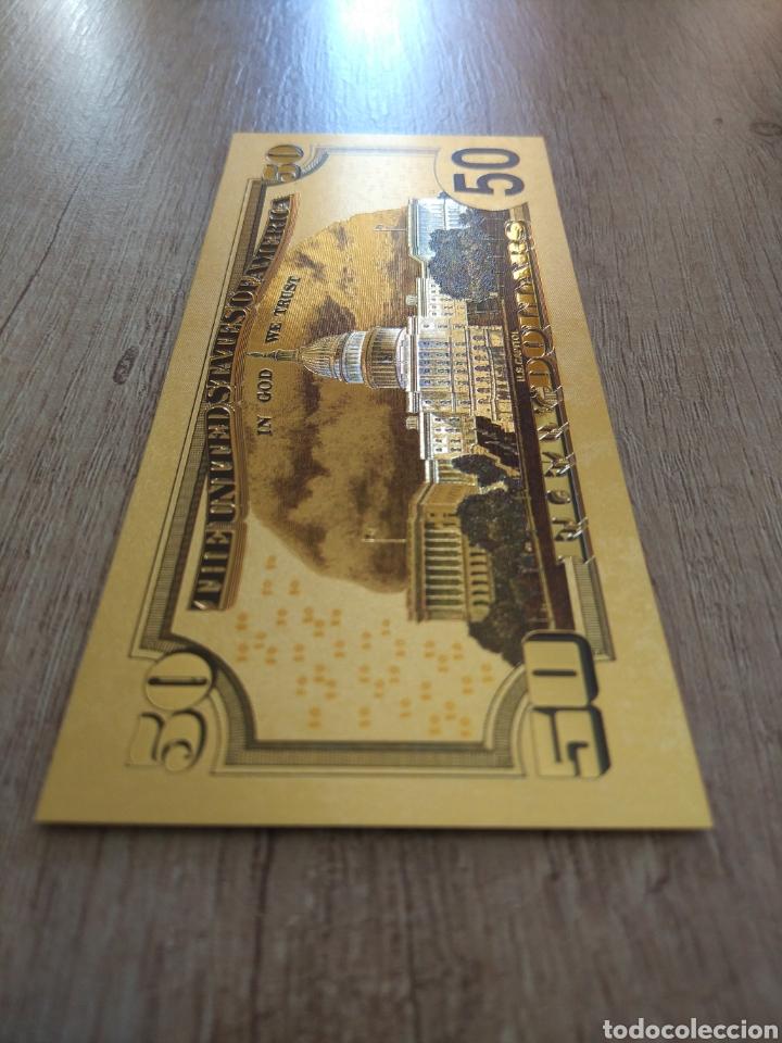 Lotes de Billetes: Lote Colección DÓLARES en ORO puro 99,9% 24. con Certificado de Autenticidad - Foto 35 - 207195960