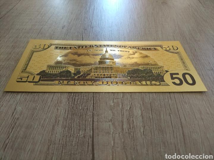 Lotes de Billetes: Lote Colección DÓLARES en ORO puro 99,9% 24. con Certificado de Autenticidad - Foto 36 - 207195960