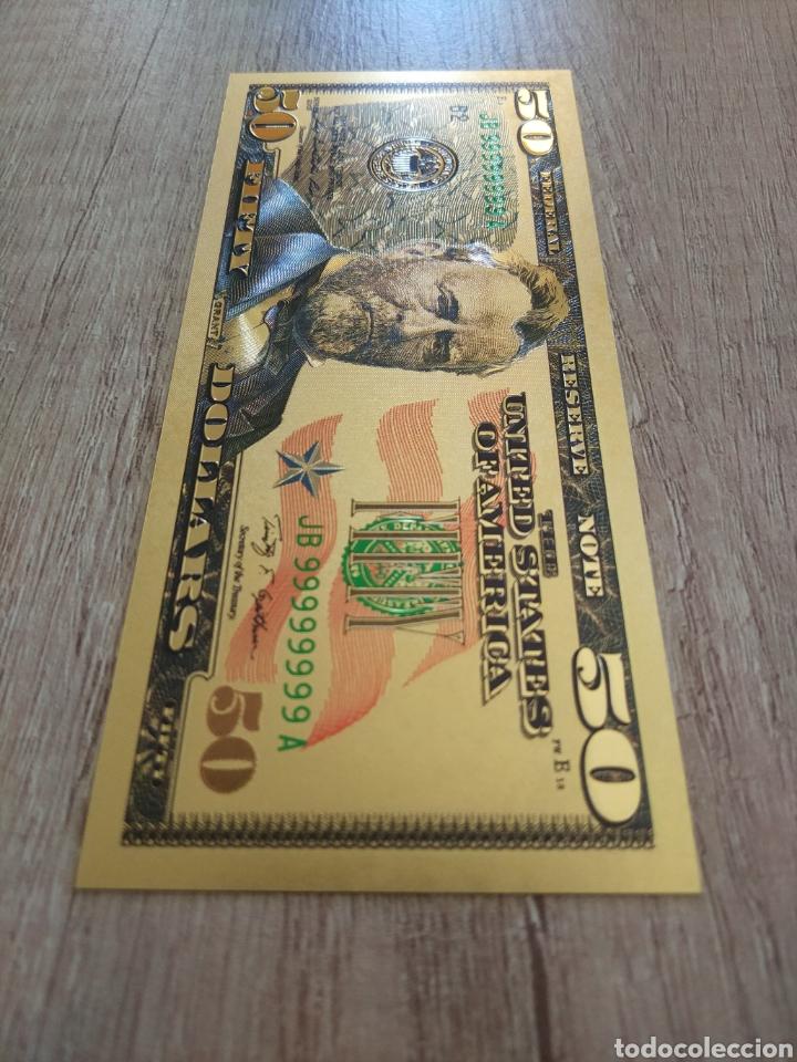 Lotes de Billetes: Lote Colección DÓLARES en ORO puro 99,9% 24. con Certificado de Autenticidad - Foto 37 - 207195960