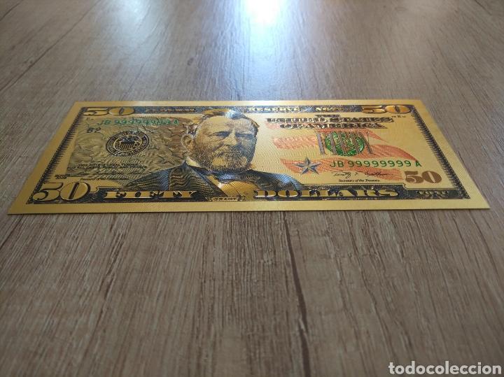 Lotes de Billetes: Lote Colección DÓLARES en ORO puro 99,9% 24. con Certificado de Autenticidad - Foto 38 - 207195960