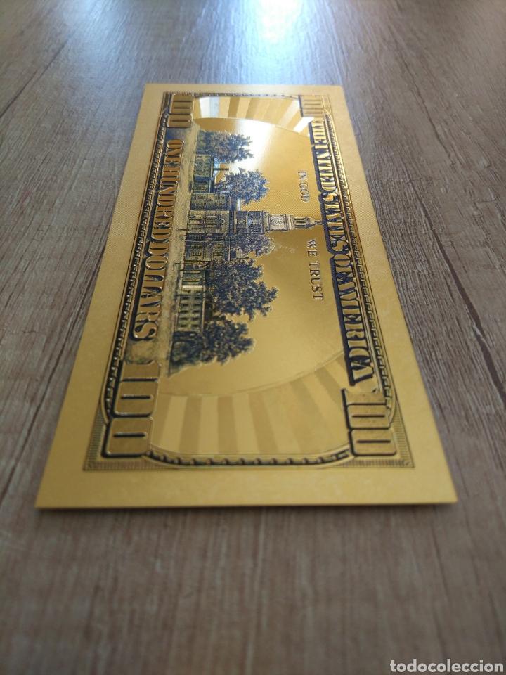 Lotes de Billetes: Lote Colección DÓLARES en ORO puro 99,9% 24. con Certificado de Autenticidad - Foto 39 - 207195960