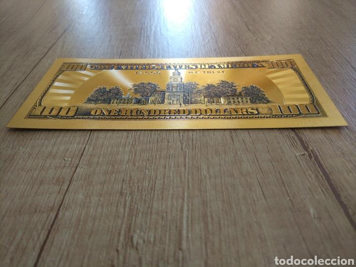 Lotes de Billetes: Lote Colección DÓLARES en ORO puro 99,9% 24. con Certificado de Autenticidad - Foto 40 - 207195960