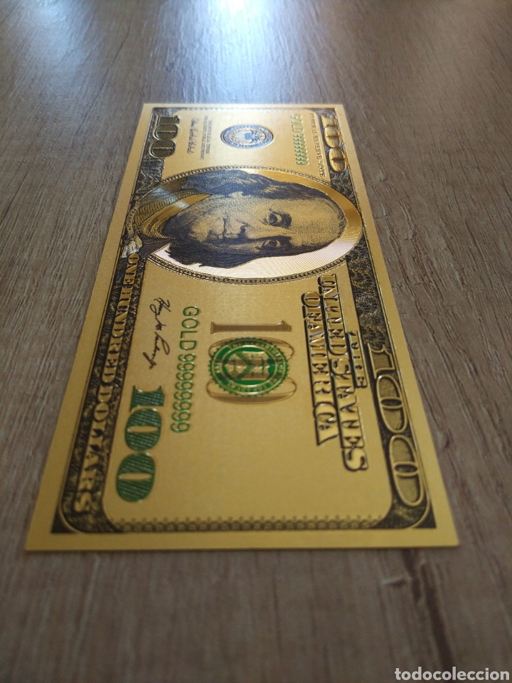 Lotes de Billetes: Lote Colección DÓLARES en ORO puro 99,9% 24. con Certificado de Autenticidad - Foto 41 - 207195960