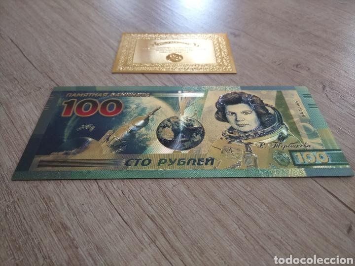 Lotes de Billetes: Lote Colección BILLETES en ORO puro 99,9% 24. con Certificado de Autenticidad - Foto 8 - 207203468