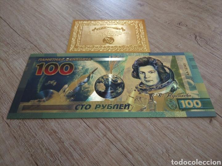 Lotes de Billetes: Lote Colección BILLETES en ORO puro 99,9% 24. con Certificado de Autenticidad - Foto 12 - 207203468