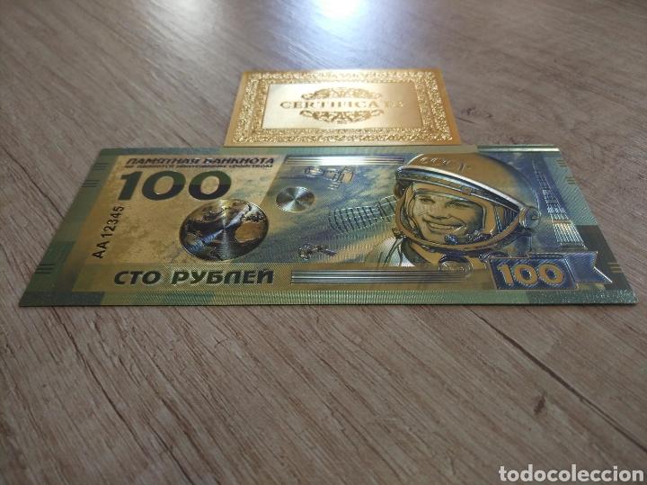 Lotes de Billetes: Lote Colección BILLETES en ORO puro 99,9% 24. con Certificado de Autenticidad - Foto 13 - 207203468