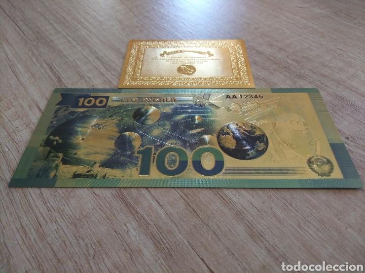 Lotes de Billetes: Lote Colección BILLETES en ORO puro 99,9% 24. con Certificado de Autenticidad - Foto 14 - 207203468