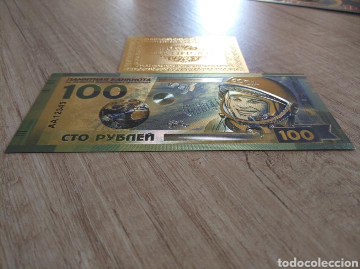 Lotes de Billetes: Lote Colección BILLETES en ORO puro 99,9% 24. con Certificado de Autenticidad - Foto 15 - 207203468