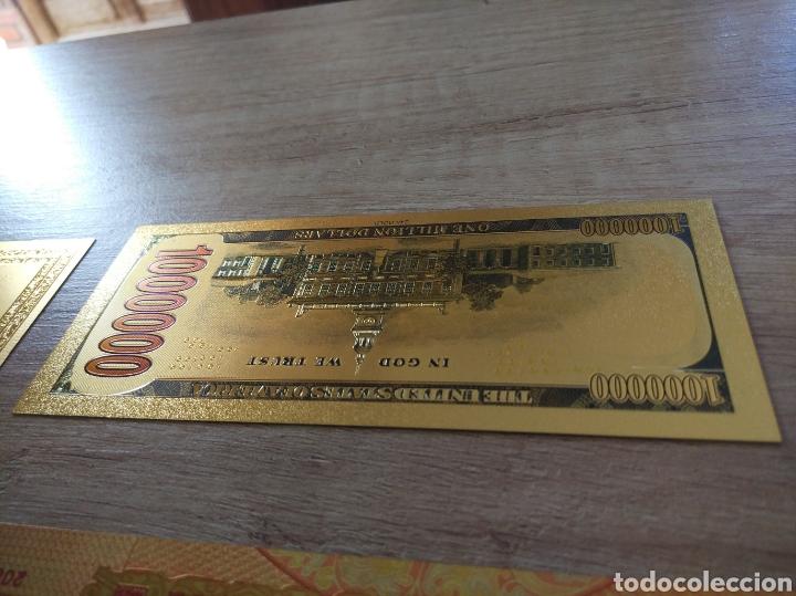 Lotes de Billetes: Lote Colección BILLETES en ORO puro 99,9% 24. con Certificado de Autenticidad - Foto 17 - 207203468